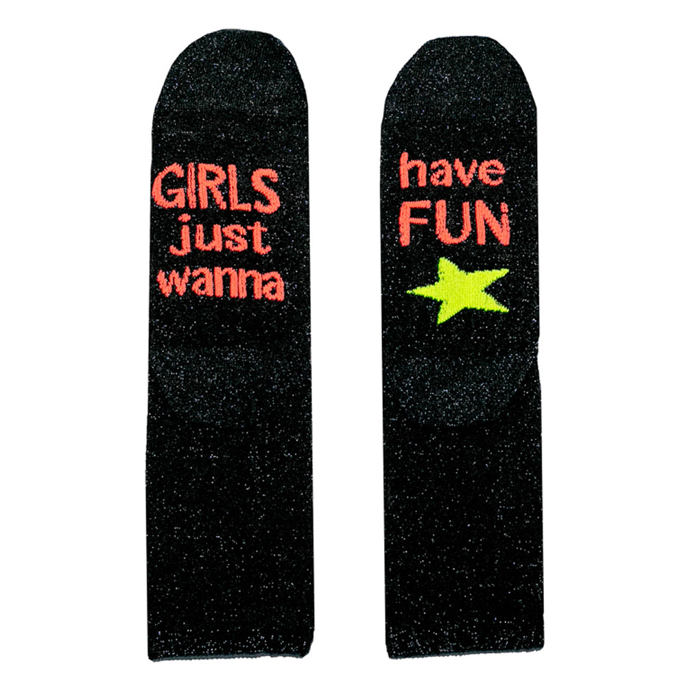 Sparkle Socks - Girls Just Wanna Have Fun