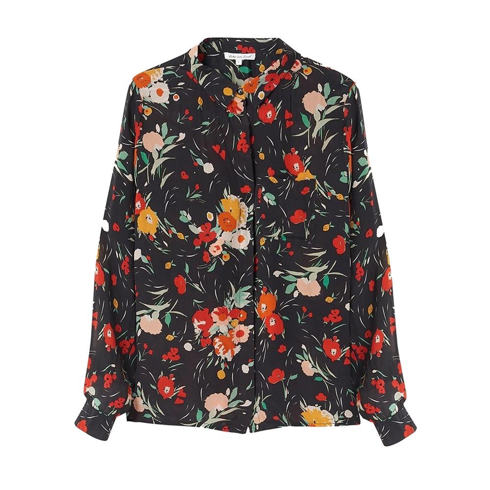 Daria Shirt - 30s Floral