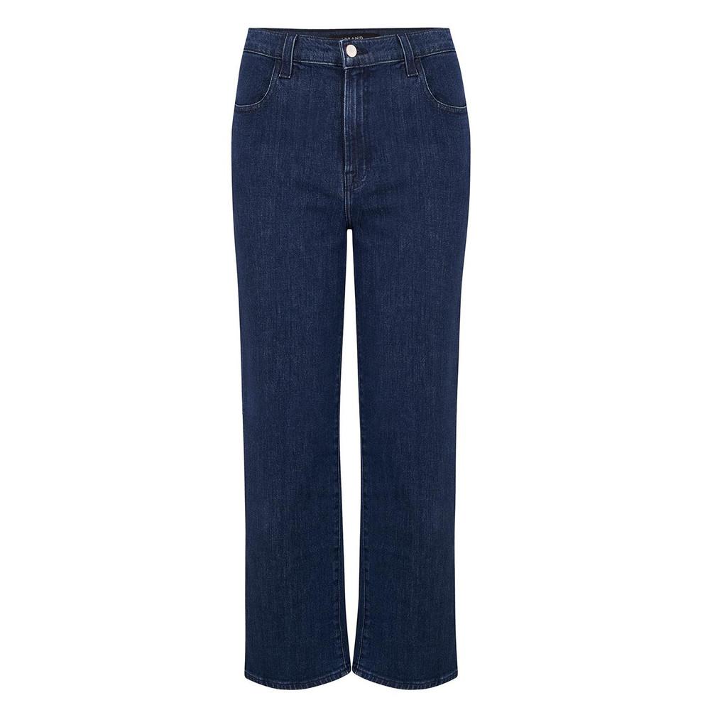 Joan High Rise Wide Leg Crop Jeans - Match