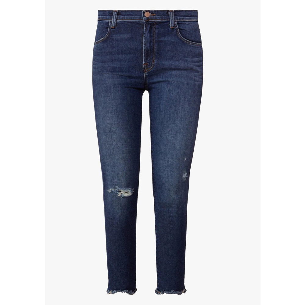 Alana High Rise Cropped Super Skinny Jeans - Persuade