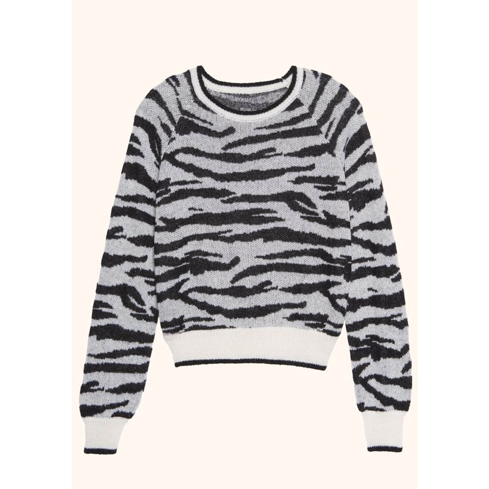 Poire Tiger Sweater - Ecru