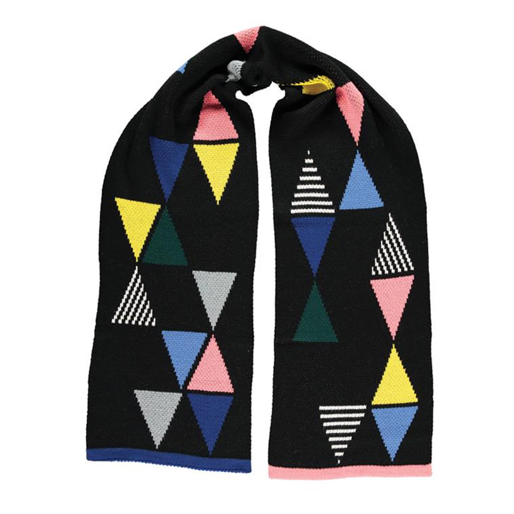 Triangle Scarf - Black