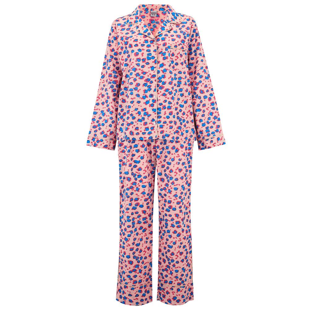 Leopard Pyjama Set - Rose