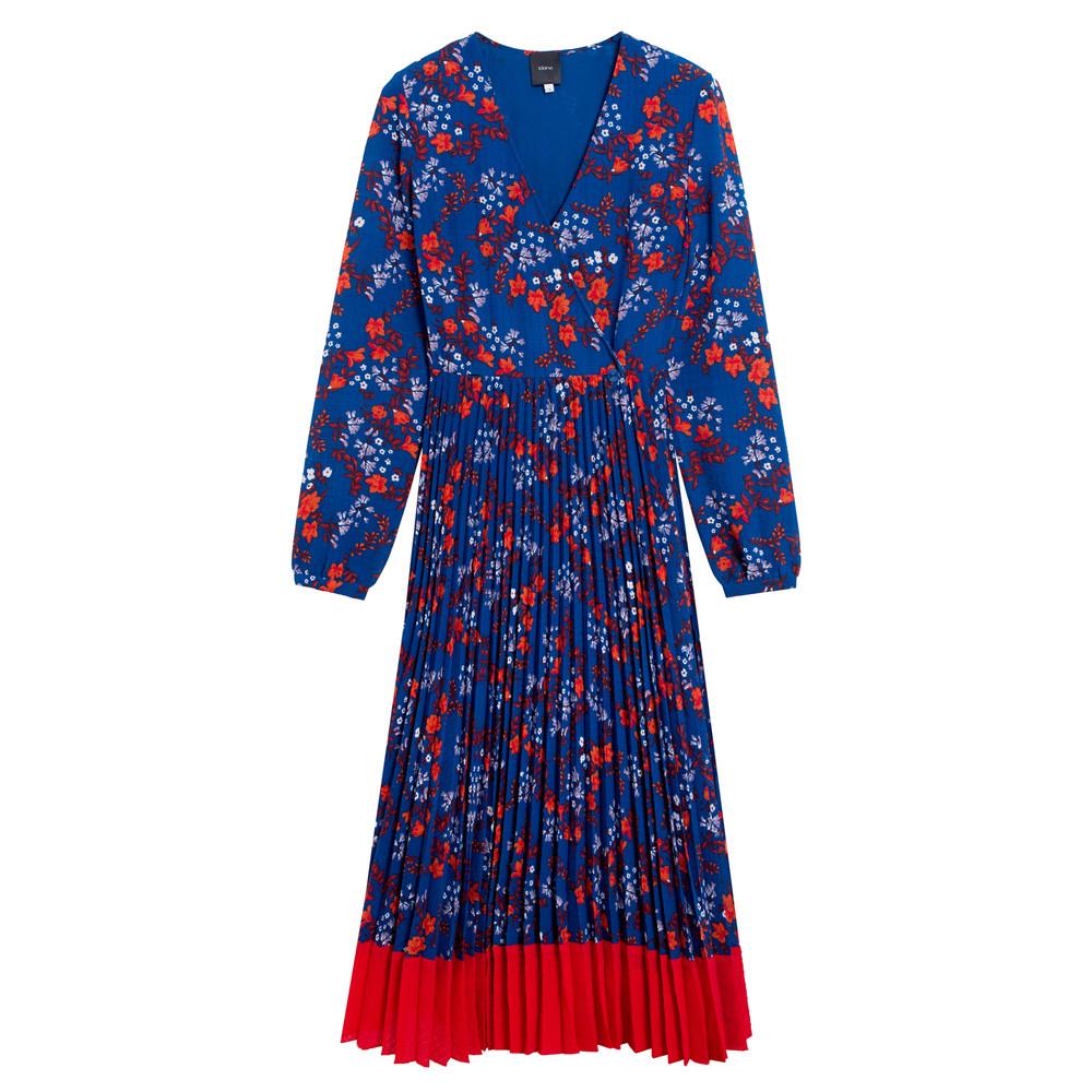Cerise Dress - Blue