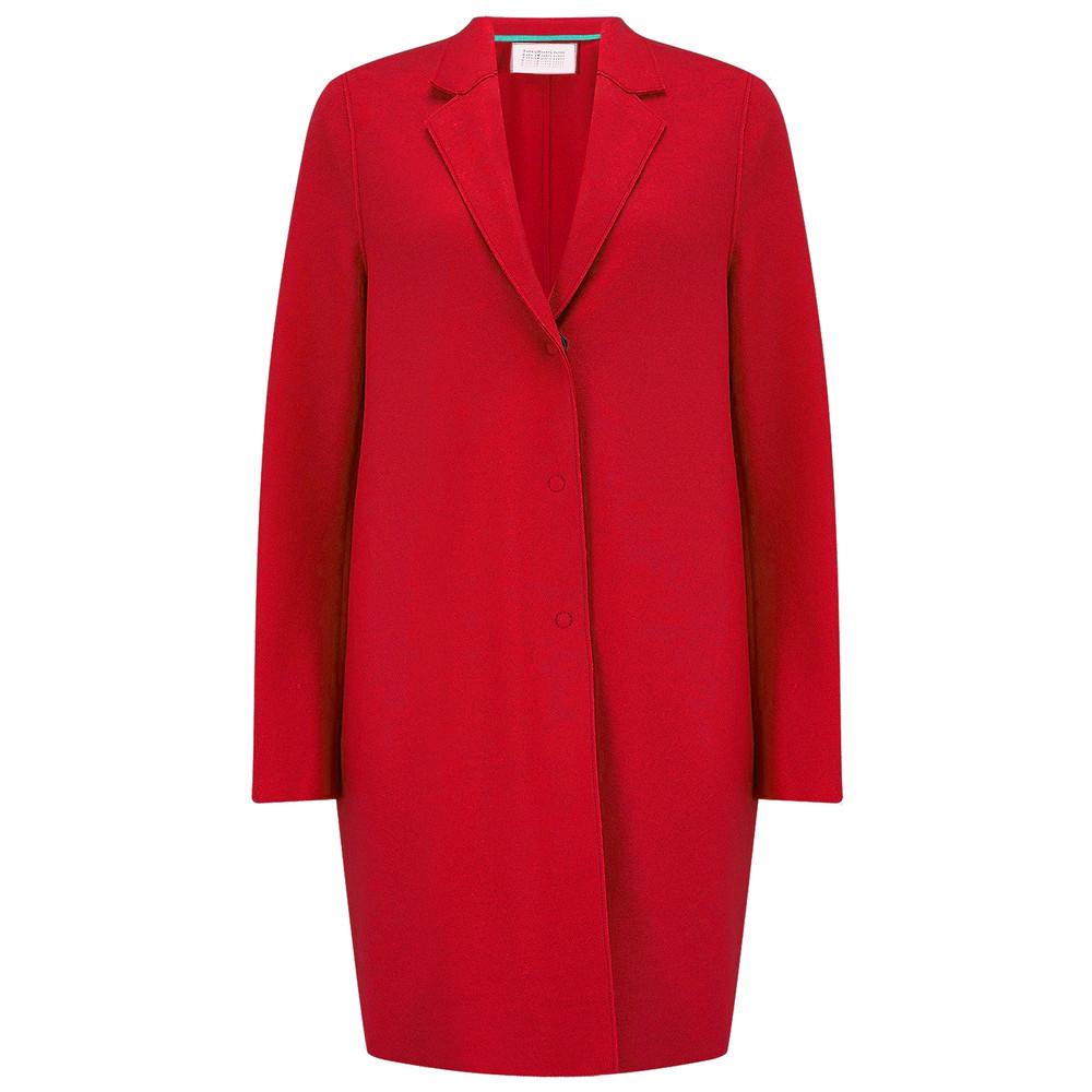 Cocoon Coat - Red