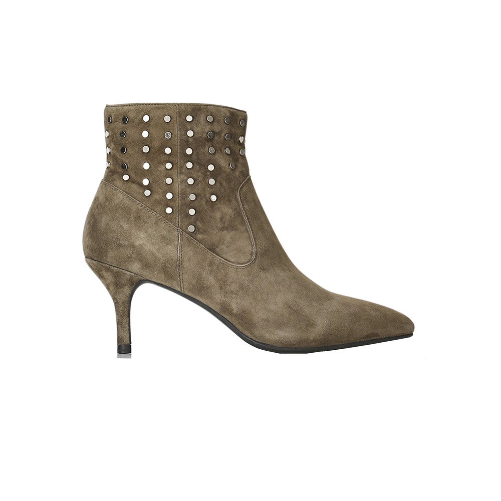 Agnete West Suede Boots - Green