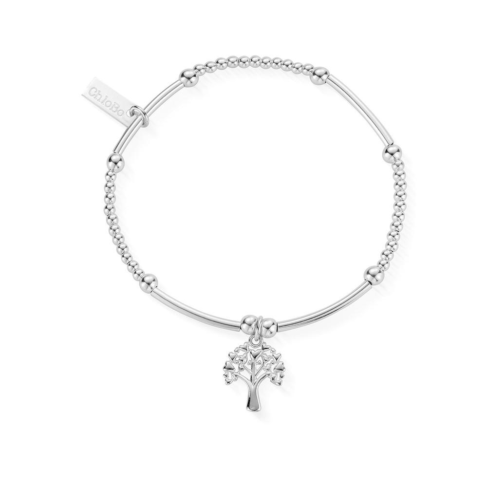 Cute Mini Tree of Life Bracelet - Silver
