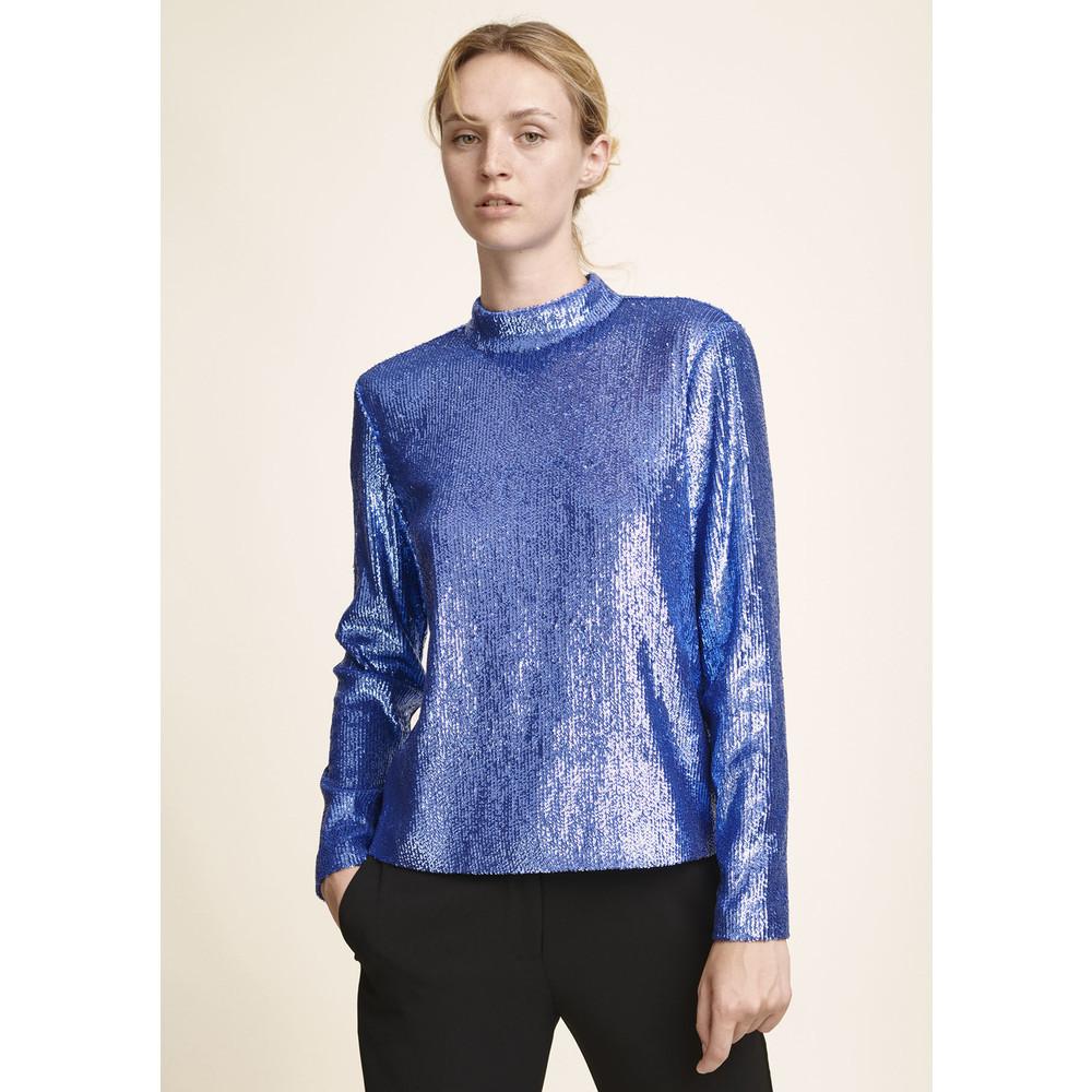 Theta TN Sequin Top - Bijou Blue
