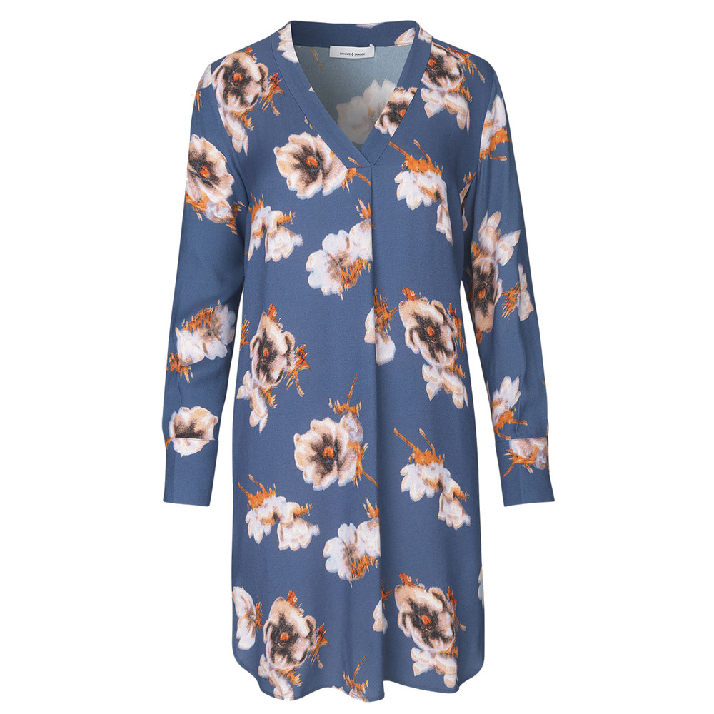 Hamill VN Dress - Blue Floral