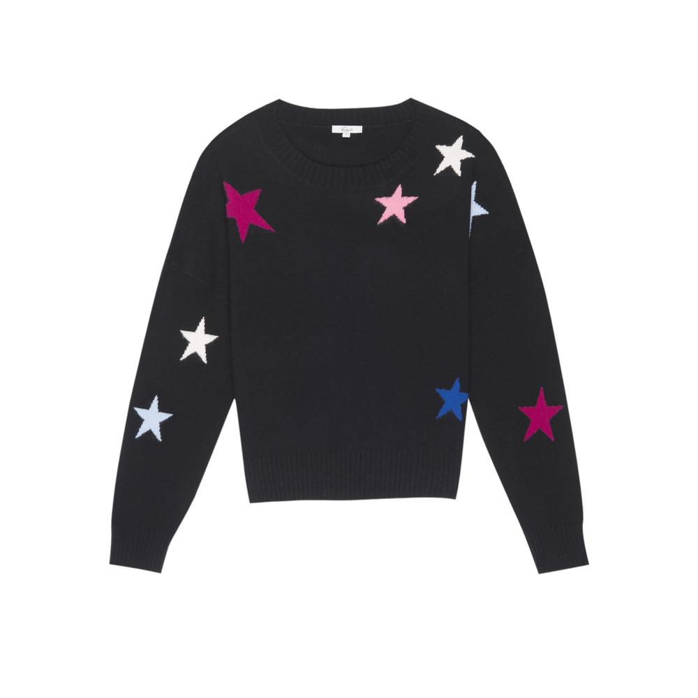 Presley Sweater - Black Cosmo
