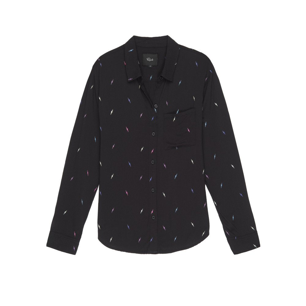 Rocsi Shirt - Black Lightening
