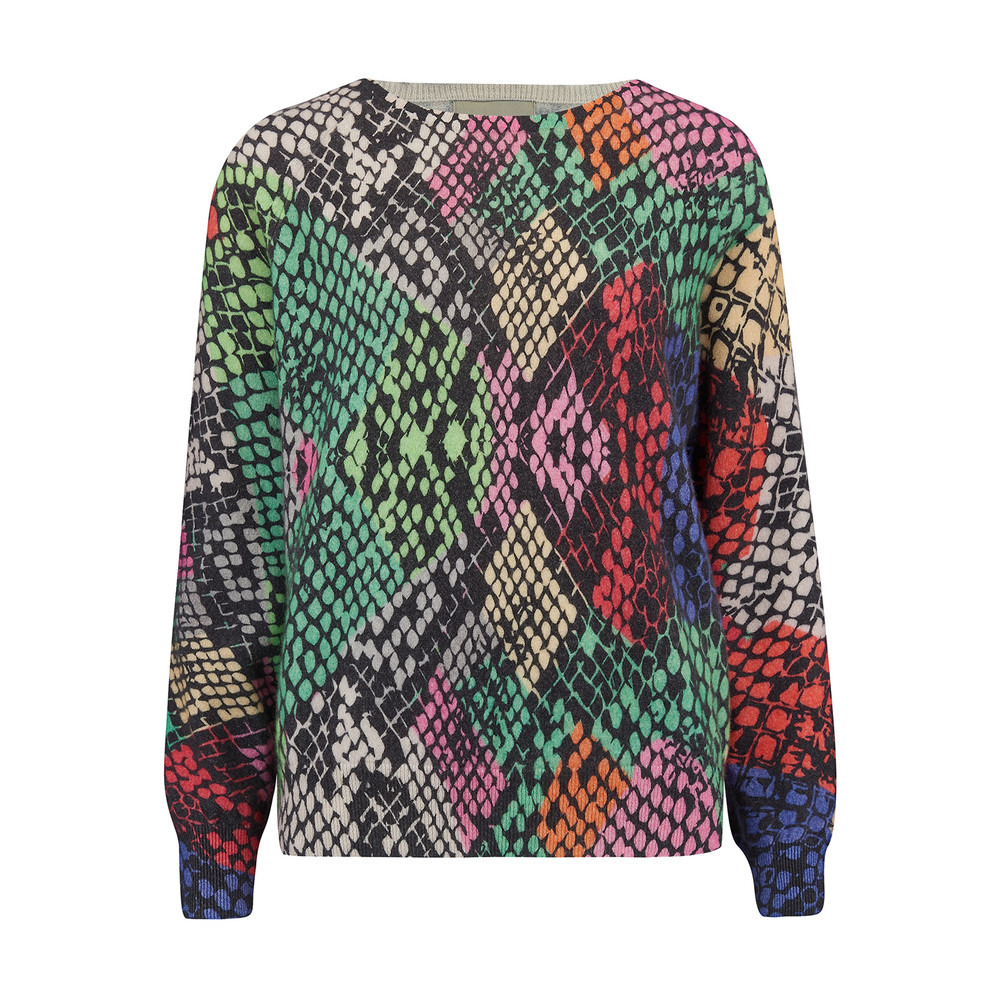 Multi Snake Print Sweater - Version 1