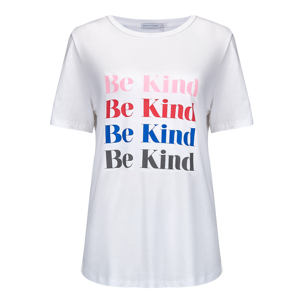 Be Kind Tee - White