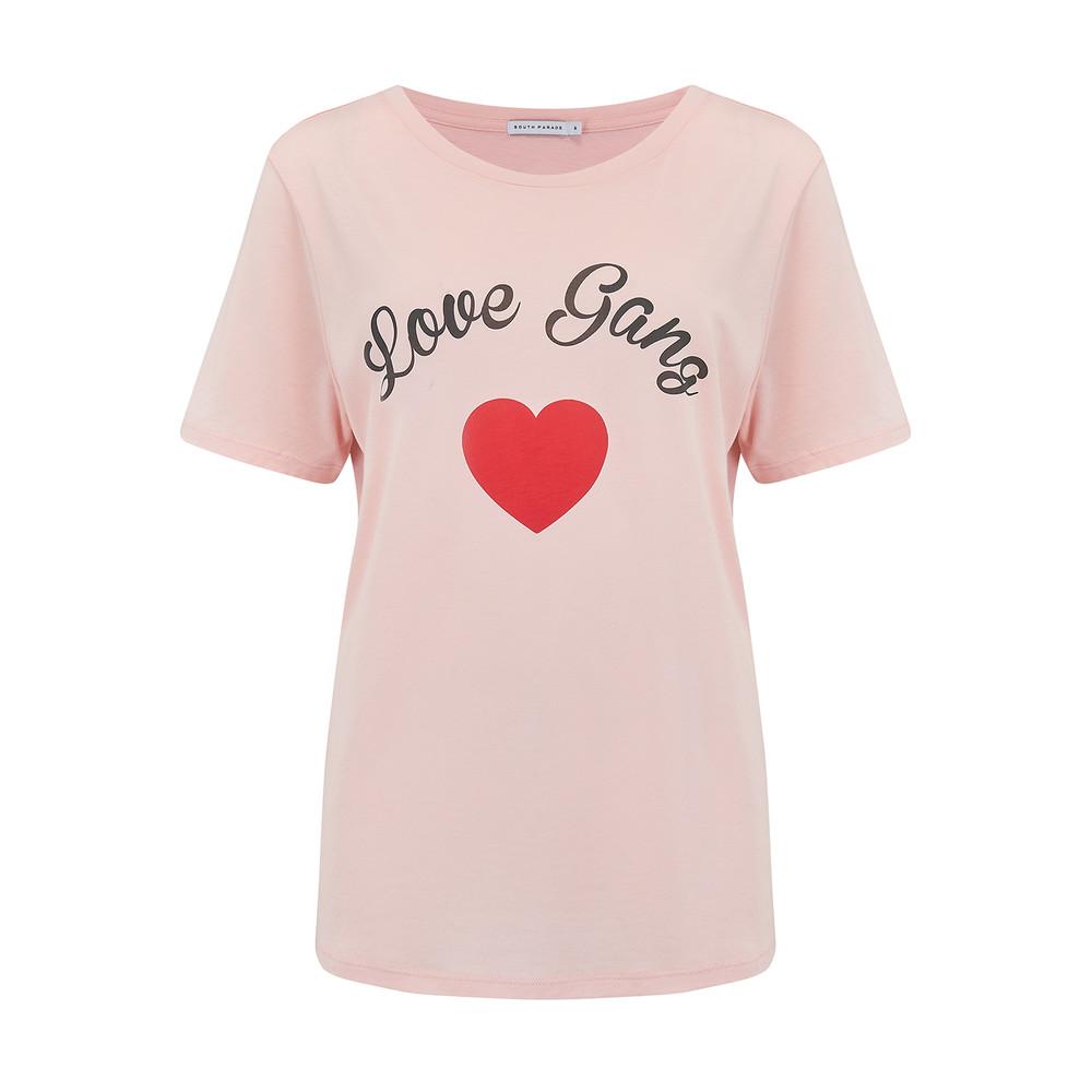 Girl Gang Tee - Pink