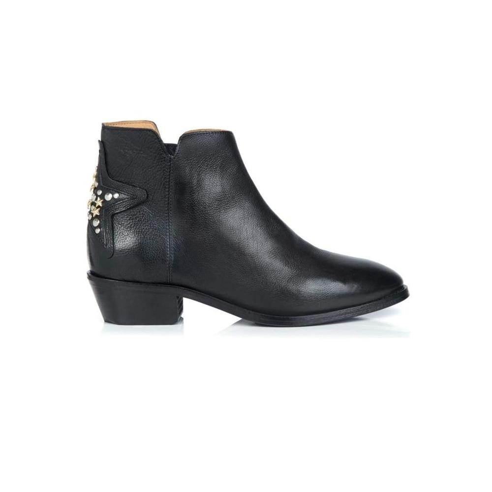 Stellar Leather Boot - Black