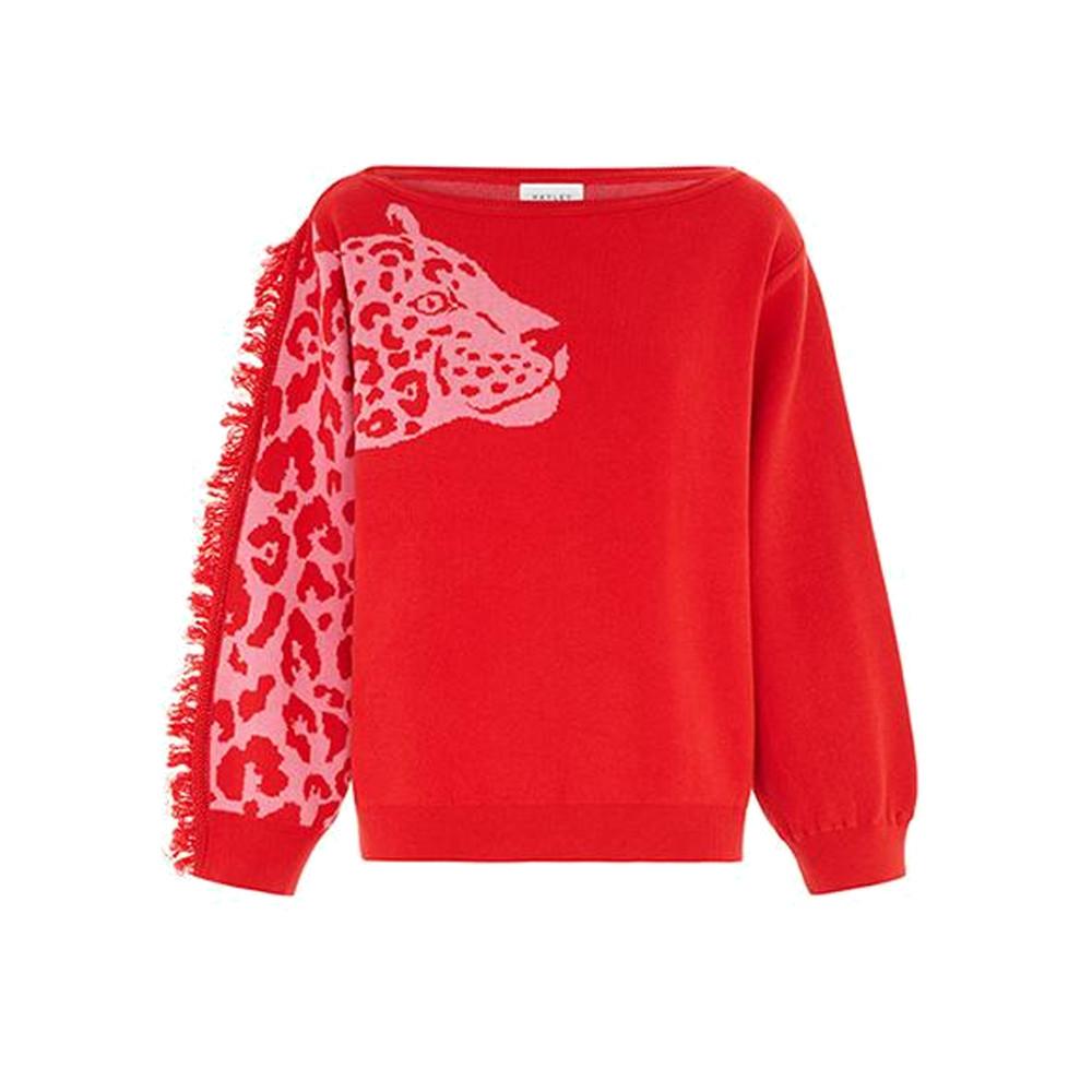 Panthera Jumper - Red Pink