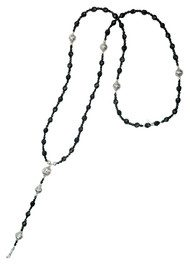ChloBo Sparkle Rosary Necklace Length 1