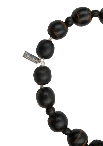 ChloBo Black Coral Rosary Necklace Length 2 main image