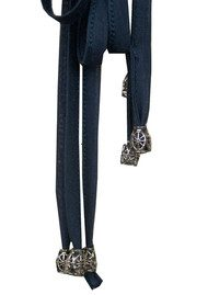 All My Love Tassle Belt - Navy