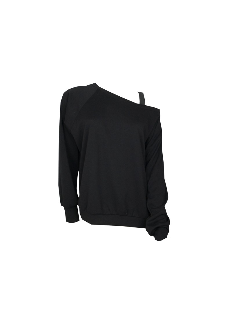 Off Shoulder Top - Black main image