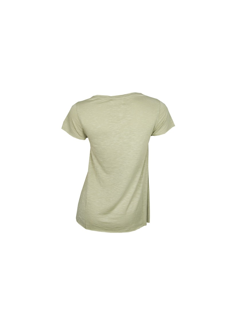 Jacksonville Short Sleeve V Neck Tee - Clay Green main image