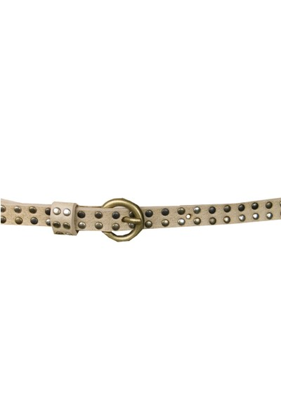 Paul & Joe Sister Sicile Narrow Studded Belt - Nude main image