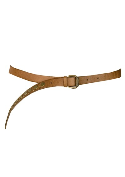 Paul & Joe Sister Azelle Leather Belt with Studs - Camel main image