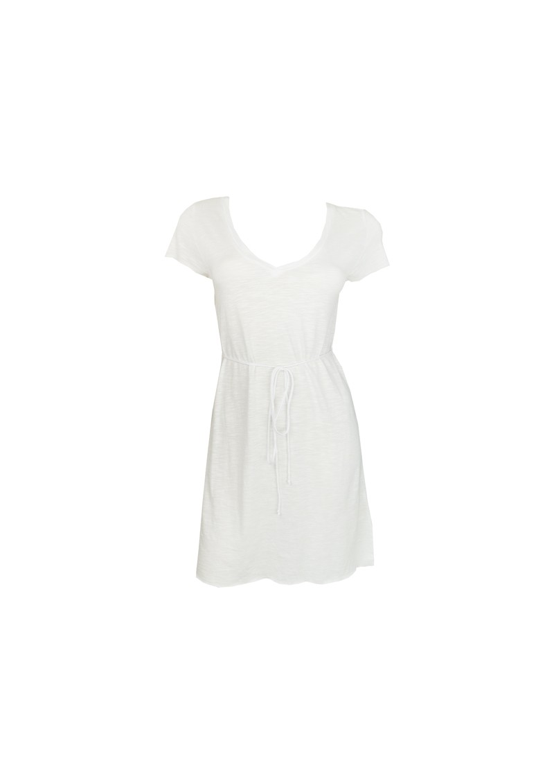 Jacksonville Short Sleeve Dress - White main image