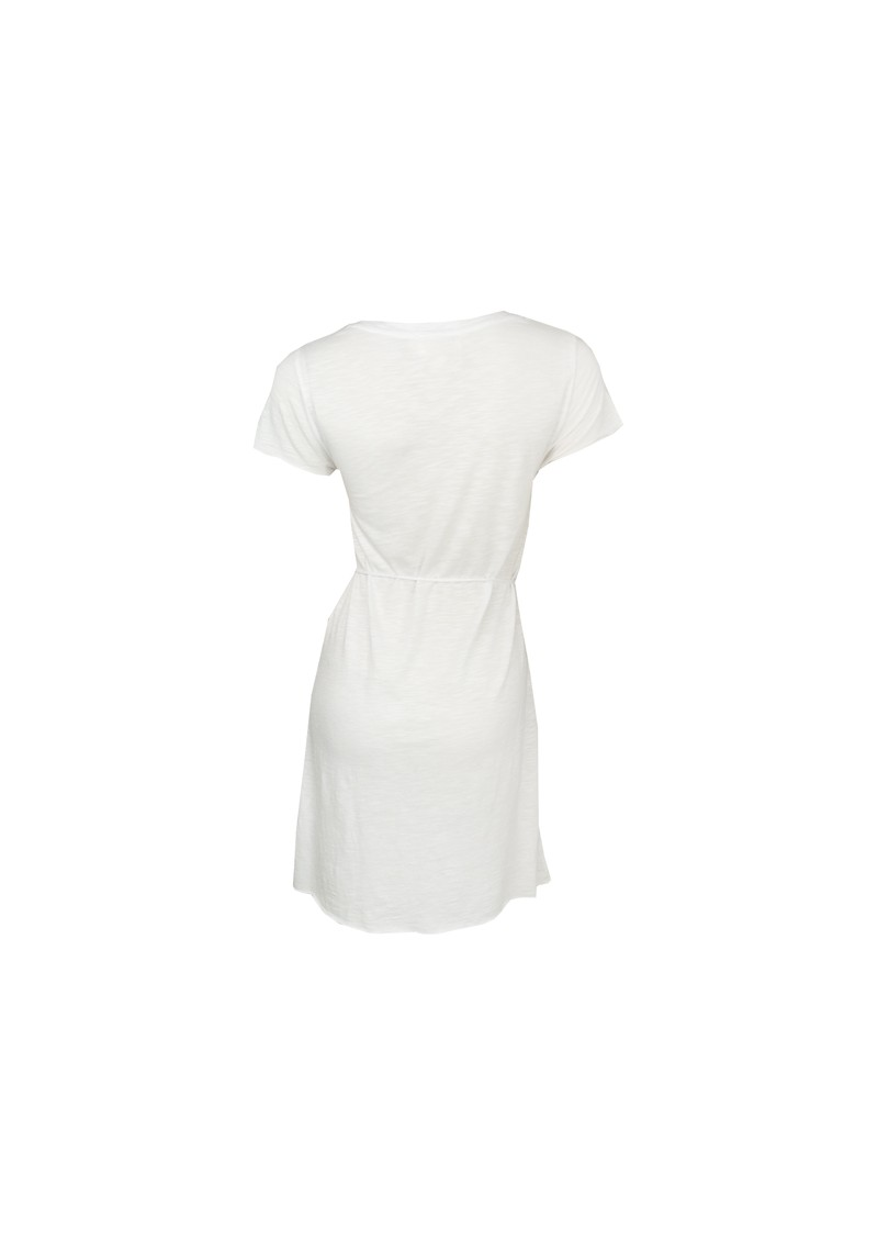 American Vintage Jacksonville Short Sleeve Dress - White main image