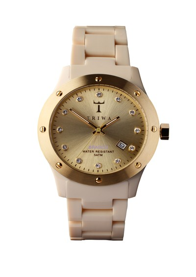 Triwa Naked Brasco Watch - Cream main image