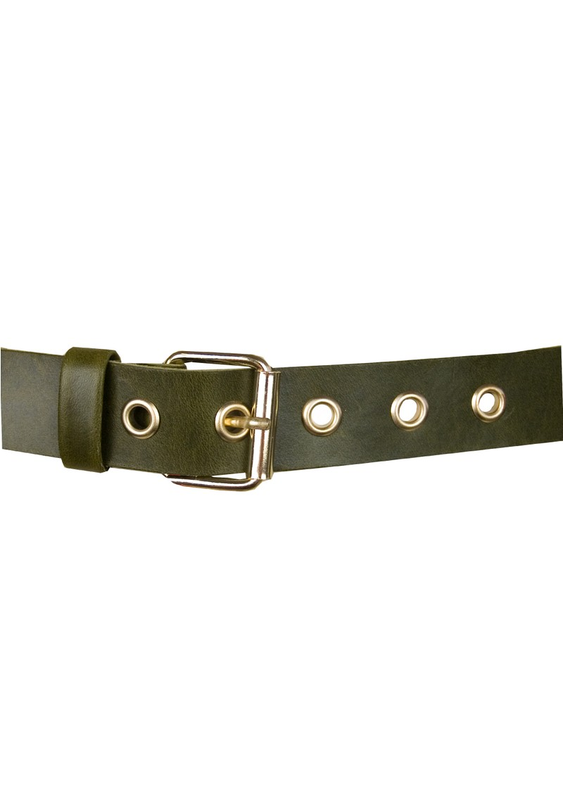 Soft Leather Belt - Khaki main image