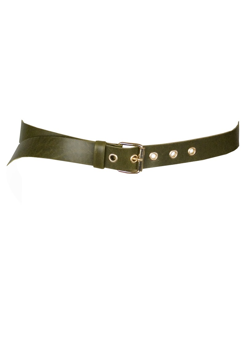 Paul and Joe Sister Soft Leather Belt - Khaki main image