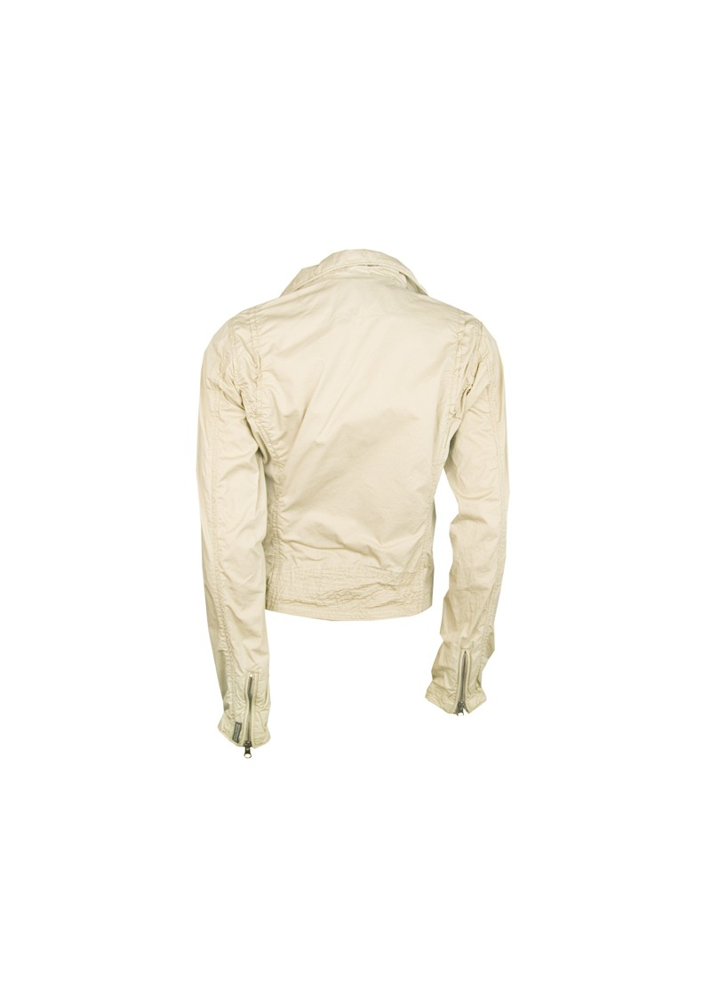 Maison Scotch Biker Style Cotton Jacket