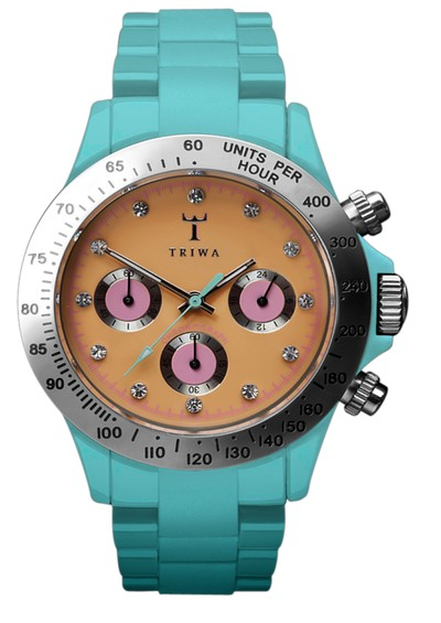 Triwa Chroniche Chronograph - Mint Green main image