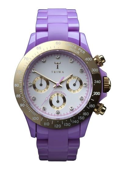 Triwa Orient Chronograph - Lilac main image