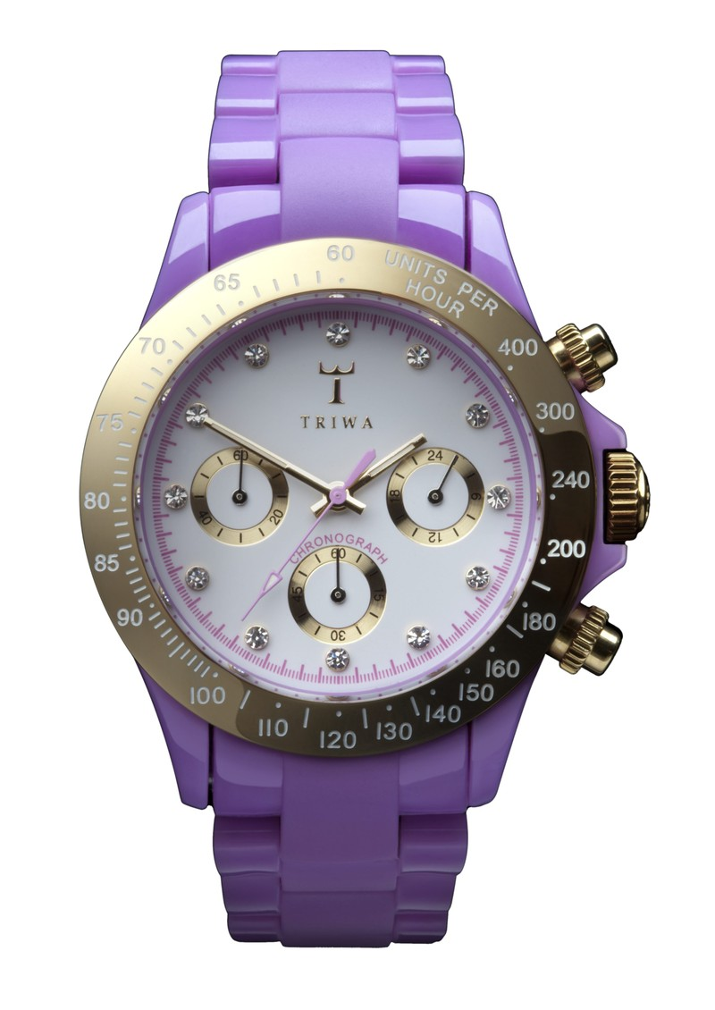 Triwa Orient Chronograph - Lilac main image