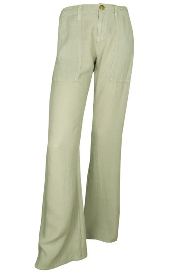 Current/Elliott The Wide Leg Army Pant - Moss Green main image