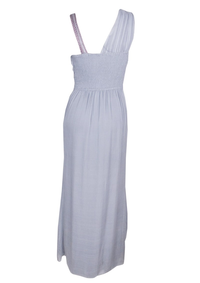 Blank Venus Silk Maxi Dress - Ash main image