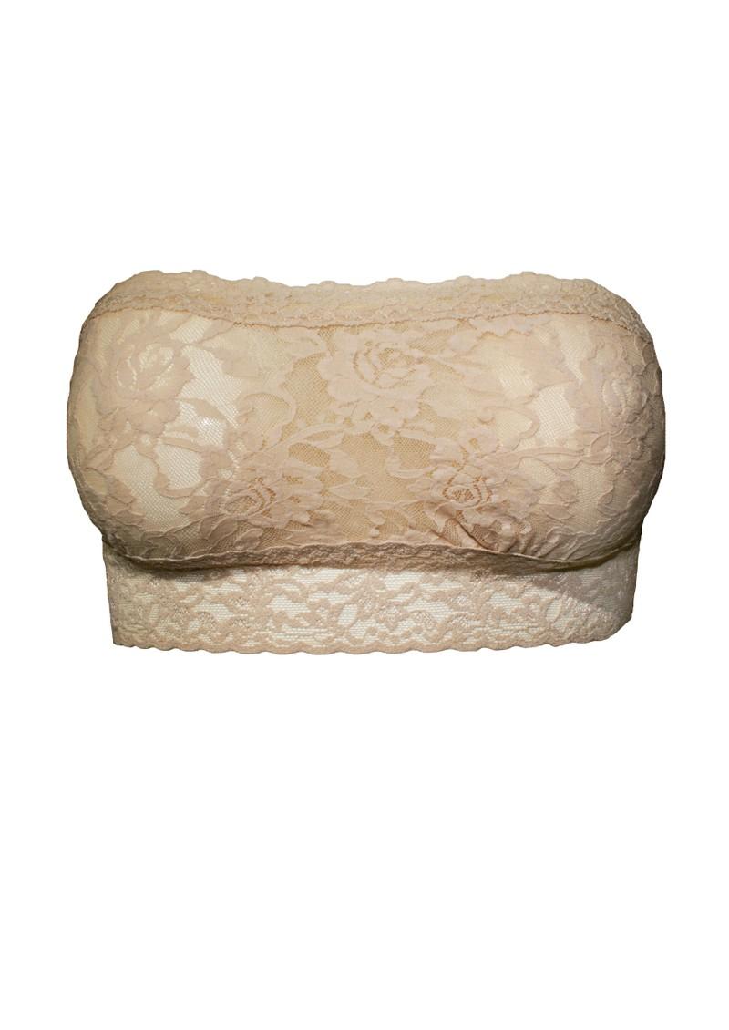 Hanky Panky Lace Bandeau - Nude main image