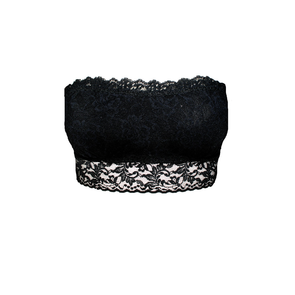 Lace Bandeau - Black