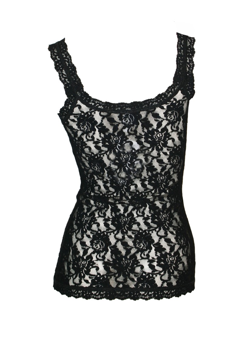 Signature Lace Camisole - Black main image