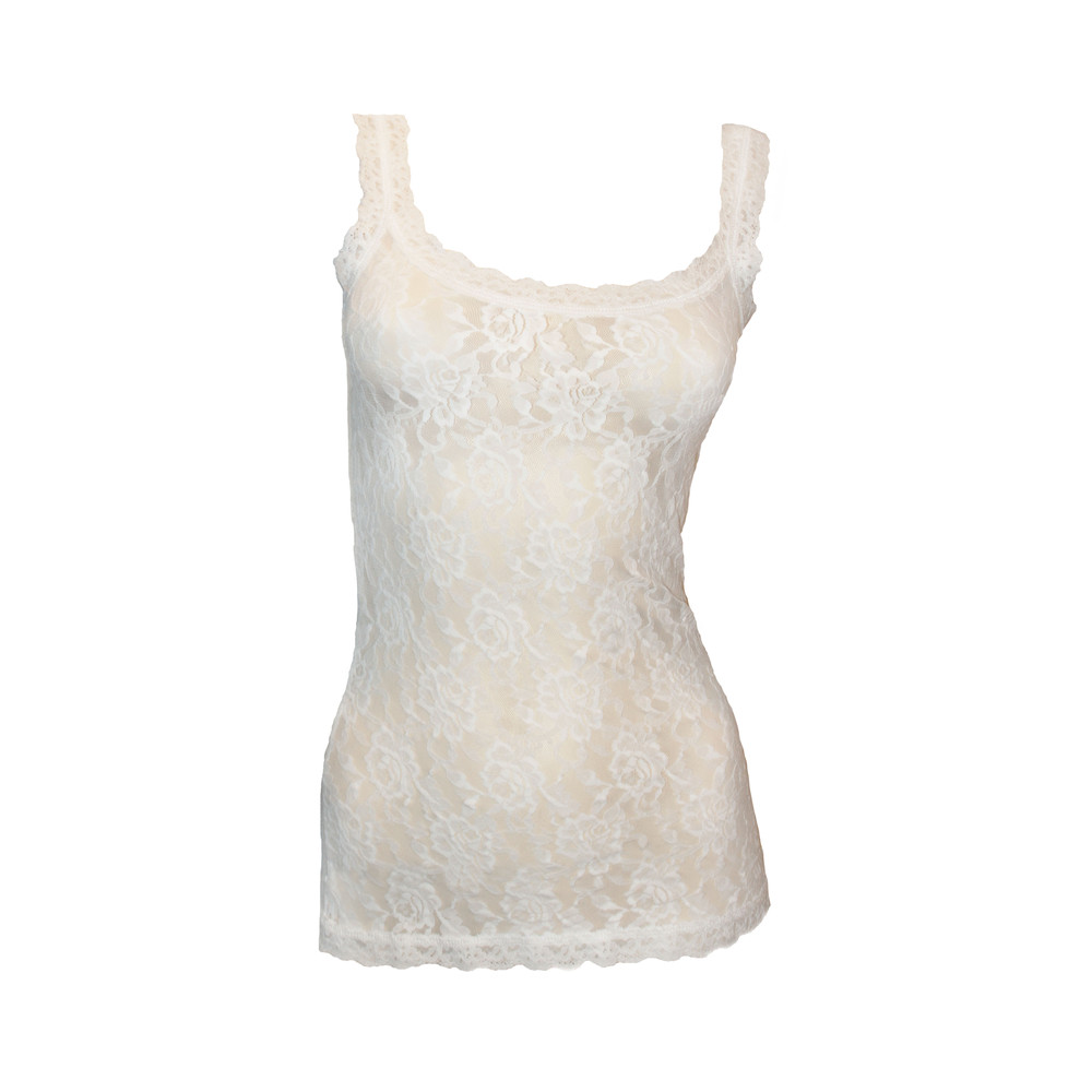 Signature Lace Camisole - White