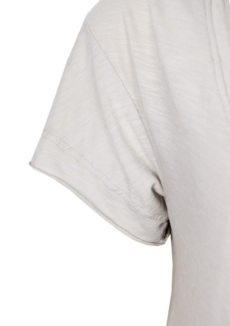 Fresh Laundry Skirt Hem Loose Fit Tee - Tea main image