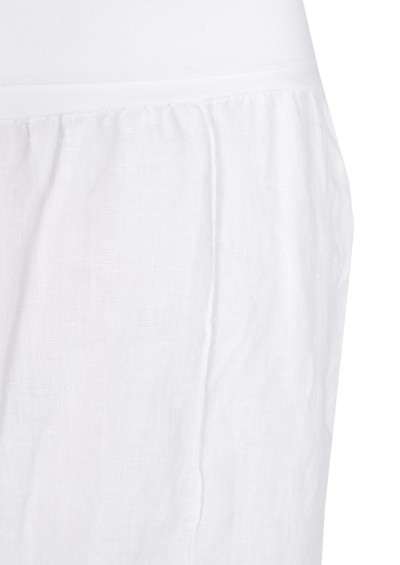 Fresh Laundry Wide Leg Linen Pant - White main image