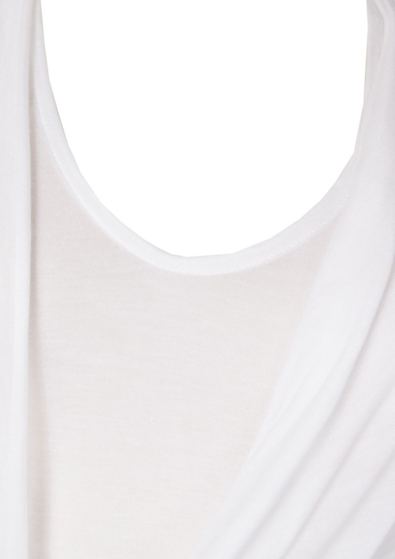 All My Love Adelle Cashmere Mix Maxi Dress - White main image