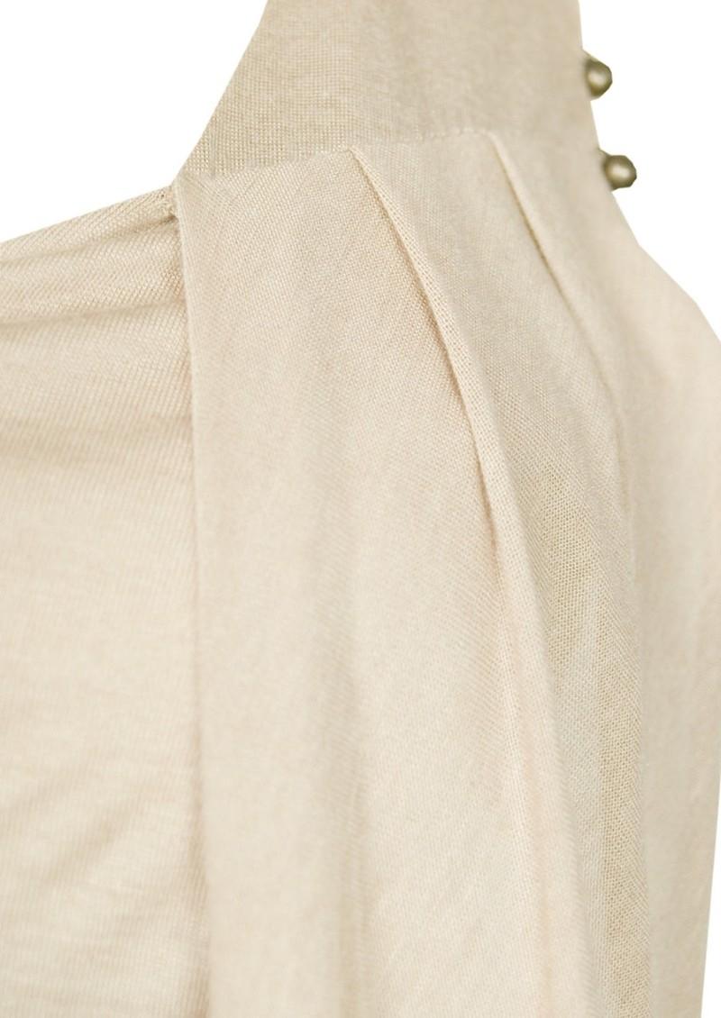 All My Love Isabel Cashmere Mix Vest - Caramel main image