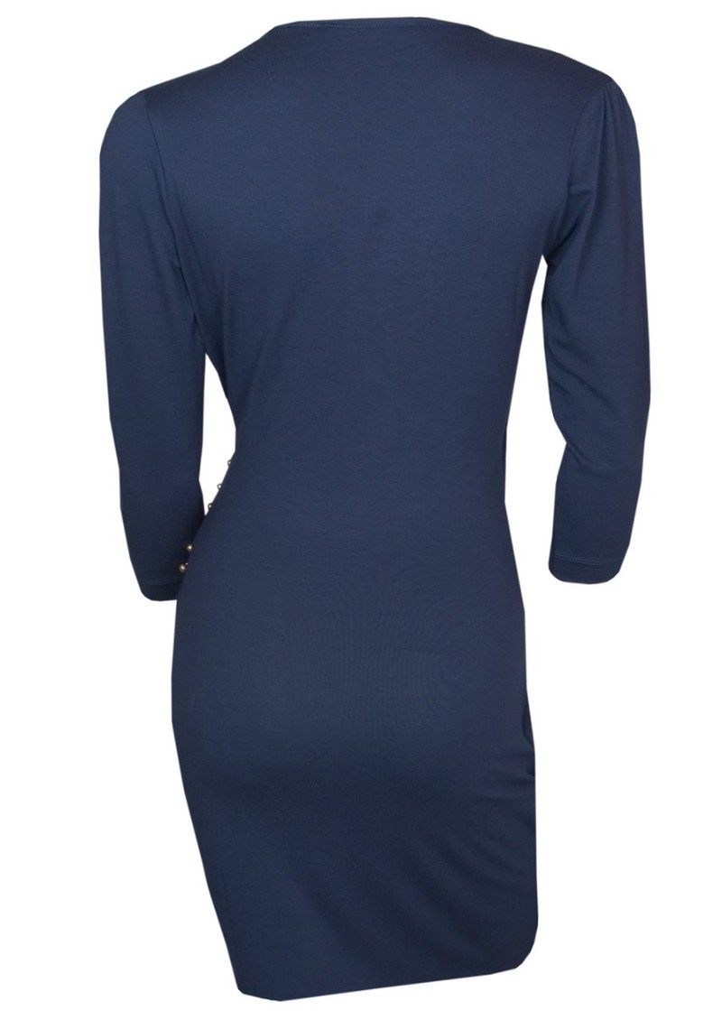 Georgia Dress - Navy main image