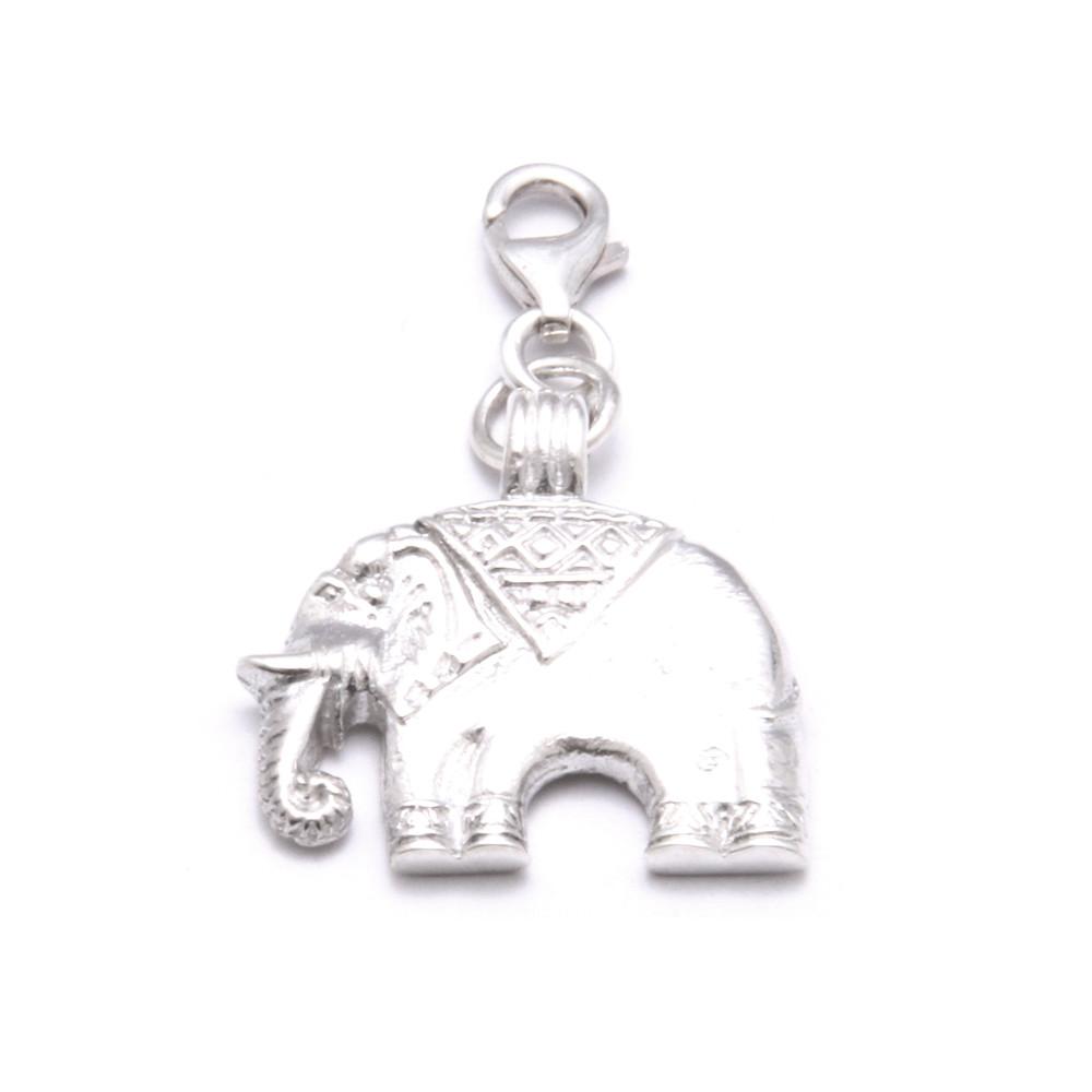 Elephant Pendant Charm