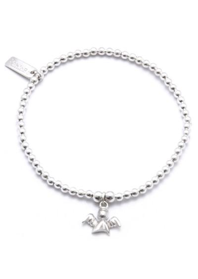 ChloBo Cute Charm Bracelet Guardian Angel - Silver main image