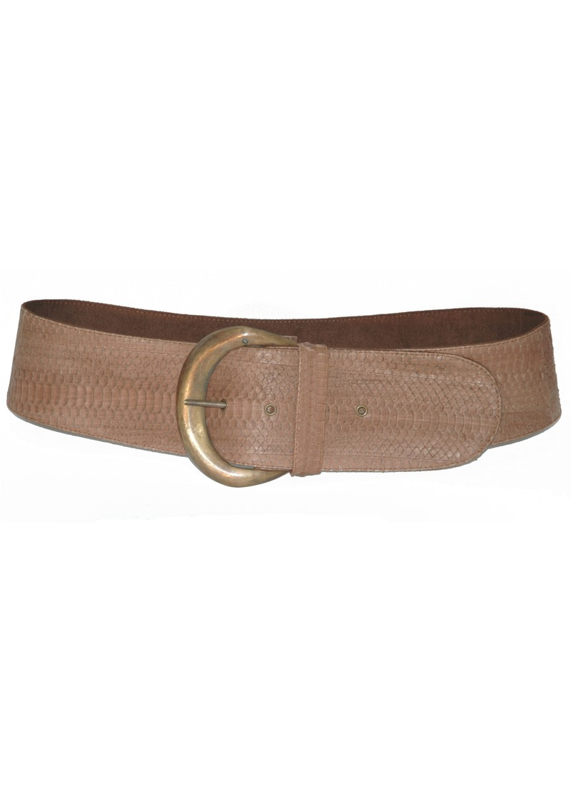 Python Moon Belt - Brown main image